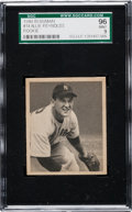 Baseball Cards:Singles (1940-1949), 1948 Bowman Allie Reynolds #14 SGC 96 Mint 9 - None Higher! ...
