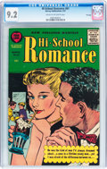 Silver Age (1956-1969):Romance, Hi-School Romance #61 File Copy (Harvey, 1957) CGC NM- 9.2 Cream tooff-white pages....