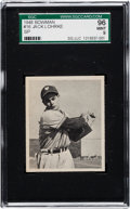 Baseball Cards:Singles (1940-1949), 1948 Bowman Jack Lohrke SP #16 SGC 96 Mint 9 - None Higher!...