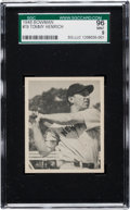 Baseball Cards:Singles (1940-1949), 1948 Bowman Tommy Henrich #19 SGC 96 Mint 9 - The Finest SGCExample! ...
