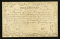 Colonial Notes:New Hampshire, New Hampshire April 3, 1755 Redated June 1, 1756 £3 Cohen Reprint Choice About New.. ...
