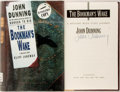 Books:Mystery & Detective Fiction, John Dunning. SIGNED. The Bookman's Wake. New York:Scribner, [1995]. First edition. Signed by the author on the ti...