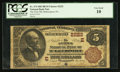 National Bank Notes:Pennsylvania, McKeesport, PA - $5 1882 Brown Back Fr. 474 The First NB Ch. # (E)2222. ...