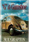 """Books:Mystery & Detective Fiction, Sue Grafton. """"G"""" is for Gumshoe. New York: Henry Holt, 1990.First edition. Octavo. Publisher's binding in original ..."""