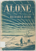 Books:Literature 1900-up, Richard Byrd. SIGNED. Alone. New York: Putnam, 1983. FirstTrade Edition. Signed by the author. Decorations by Richa...