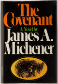 Books:Literature 1900-up, James A. Michener. SIGNED. The Covenant. New York: Random House, [1980]. First Edition. Signed by the author at fron...