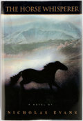 Books:Literature 1900-up, Nicholas Evans. The Horse Whisperer. New York: Delacorte, 1995. First edition. Octavo. Publisher's binding in origin...