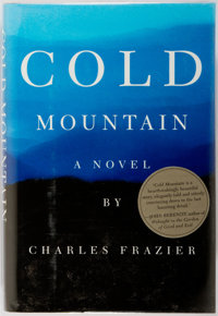 Charles Frazier. INSCRIBED. Cold Mountain. New York: Atlantic Monthly Press, [1997]. First edit