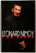 Books:Biography & Memoir, Leonard Nimoy. SIGNED. I am Spock. New York: Hyperion,[1995]. First edition. Signed by the author at the half-title...