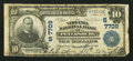 National Bank Notes:Virginia, Petersburg, VA - $10 1902 Plain Back Fr. 624 The Virginia NB Ch. #(S)7709. ...