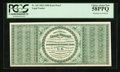 Fr. 165 Hessler 1121 $100 1862 Legal Tender Back Proof PCGS Choice About New 58PPQ