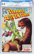 Silver Age (1956-1969):Adventure, Strange Adventures #159 (DC, 1963) CGC VF 8.0 Off-white pages....