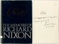 Books:Biography & Memoir, Richard Nixon. SIGNED. The Memoirs of Richard Nixon. NewYork: Grosset and Dunlap, 1978. Second printing. Inscribed ...