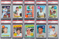 Baseball Cards:Sets, 1969 Topps Baseball High Grade Complete Set (664) Plus FiveVariations. ...