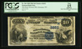 National Bank Notes:Wyoming, Cheyenne, WY - $10 1882 Date Back Fr. 545 The Stock Growers NB Ch.# (W)2652. ...