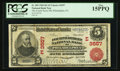 National Bank Notes:Pennsylvania, Philadelphia, PA - $5 1902 Red Seal Fr. 589 The Fourth Street NBCh. # (E)3557. ...