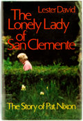 Books:Biography & Memoir, Lester David. The Lonely Lady of San Clemente: The Story of PatNixon. New York: Thomas Crowell, [1978]. First editi...