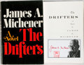 Books:Literature 1900-up, James A. Michener. SIGNED. The Drifters. New York: Random House, 1971. Signed bookplate with author's stamp at title...