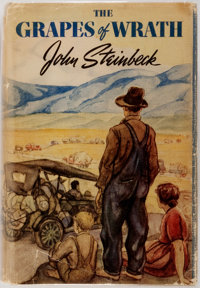 John Steinbeck. The Grapes of Wrath. New York: The Viking Press, 1939. First edition, first pri