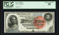 Large Size:Silver Certificates, Fr. 242 $2 1886 Silver Certificate PCGS Choice About New 58.. ...