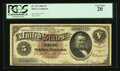 Large Size:Silver Certificates, Fr. 263 $5 1886 Silver Certificate PCGS Very Fine 20.. ...