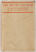 Books:Literature 1900-up, D.H. Lawrence and M. L. Skinner. The Boy in the Bush.London: Martin Secker, 1924. First issue. Octavo. Publisher's ...