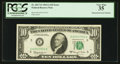 Error Notes:Mismatched Serial Numbers, Fr. 2017-E $10 1963A Federal Reserve Note. PCGS Very Fine 35.. ...