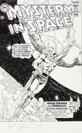 Original Comic Art:Covers, Carmine Infantino Mystery in Space #90 Adam Strange Cover Recreation Original Art (1994)....