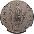 Colonials, 1788 1C Massachusetts Cent, Period AU58 NGC. Ryder 3-A, W-6210, Low R.4. ...