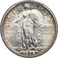 Standing Liberty Quarters, 1916 25C MS64+ Full Head PCGS....
