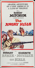 "Movie Posters:War, The Angry Hills & Others Lot (MGM, 1959). Three Sheets (3) (41""X 79""). War.. ... (Total: 3 Items)"