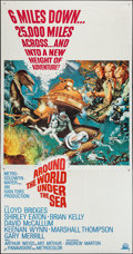 "Movie Posters:Adventure, Around the World, Under the Sea & Other Lot (MGM, 1966). ThreeSheets (2) (41"" X 78"" & 41"" X 79""). Adventure.. ... (Total: 2Items)"