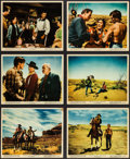 "Movie Posters:Western, The Searchers (Warner Brothers, 1956). Color Photos (9) (8"" X 10"").Western.. ... (Total: 9 Items)"