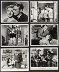 "Movie Posters:War, Gary Cooper and Jane Wyatt in Task Force & Others Lot (WarnerBrothers, 1949). Photos (42) (6.5"" X 8.5"" & 8"" X 10""). War..... (Total: 42 Items)"