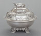 A WILLIAM GALE & SON COIN SILVER BUTTER DISH William Gale & Son, New York, New York, circa 1853 Marks: W...