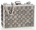 Luxury Accessories:Bags, Judith Leiber Gumental Stud Box Minaudiere Clutch Bag. ...