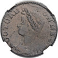 Colonials, 1786 COPPER Connecticut Copper, Mailed Bust Left VF35 NGC. M. 5.4-N, W-2585, High R.6. ...
