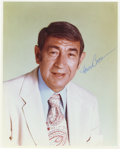 "Autographs:Photos, Howard Cosell Signed Photograph. Elegant 8x10"" portrait of one ofthe most colorful figures in the history of sports media...."