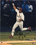 """Autographs:Photos, Mark McGwire Signed Photograph. Big Mac signed this limited-run 8x10"""" photo with """"70"""" inscription, making note of his amazi..."""