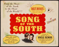 """Movie Posters:Animation, Song of the South (RKO, 1946). Title Lobby Card (11"""" X 14""""). Animation.. ..."""