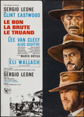 "Movie Posters:Western, The Good, the Bad and the Ugly (United Artists, R-1970s). French Affiche (22"" X 30.75""). Western.. ..."