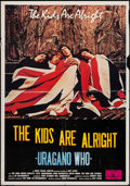 "Movie Posters:Rock and Roll, The Kids Are Alright (Rock Films Limited, 1979). Italian Foglio(27.5"" X 39.5""). Rock and Roll.. ..."