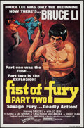 "Movie Posters:Action, Fist of Fury Part 2 & Other Lot (21st Century, 1980). OneSheets (2) (21.5"" X 30.5"" & 27"" X 41""). Action.. ... (Total: 2Items)"