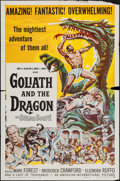 "Movie Posters:Adventure, Goliath and the Dragon & Others Lot (American International,1960). One Sheets (2) (27"" X 41"") & Photos (9) (8"" X 10"").Adve... (Total: 11 Items)"