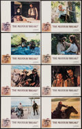 """Movie Posters:Western, The Missouri Breaks (United Artists, 1976). Lobby Card Set of 8(11"""" X 14""""). Western.. ... (Total: 8 Items)"""
