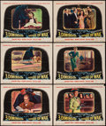 """Movie Posters:Horror, House of Wax (Warner Brothers, 1953). Lobby Cards (6) (11"""" X 14"""") 3-D Style. Horror.. ... (Total: 6 Items)"""