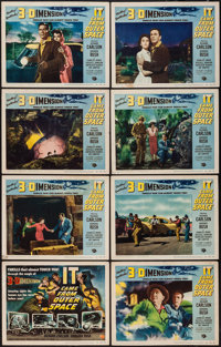 "It Came from Outer Space (Universal International, 1953). Lobby Card Set of 8 (11"" X 14"") 3-D Style. Science F..."
