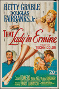 """Movie Posters:Musical, That Lady in Ermine (20th Century Fox, 1948). One Sheet (27"""" X 41""""). Musical.. ..."""