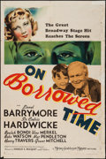 "Movie Posters:Fantasy, On Borrowed Time (MGM, 1939). One Sheet (27"" X 41""). Fantasy.. ..."