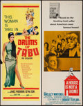 "Movie Posters:Exploitation, A House Is Not a Home & Other Lot (Embassy, 1964). Inserts (2)(14"" X 36""). Exploitation.. ... (Total: 2 Items)"